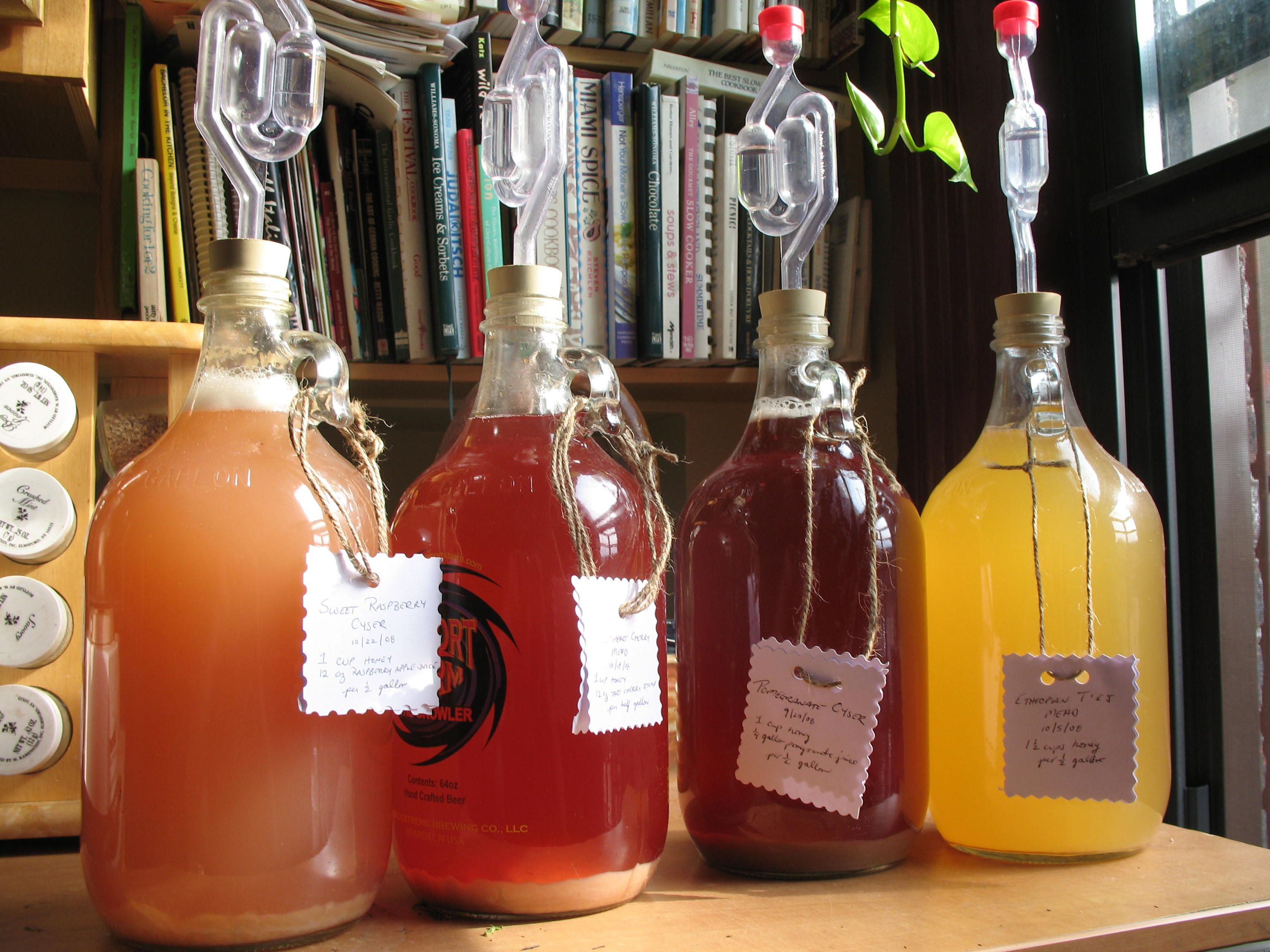 Meads And Cysers And Ciders Oh My Mead Fruit Wine Cider