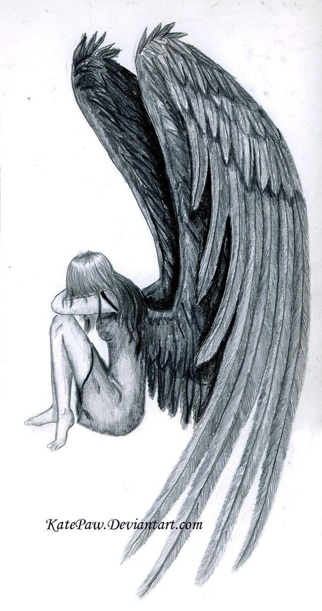 Uncategorized Angels Drawings 8 best images of pencil drawings angels beautiful angel fallen tattoo google search