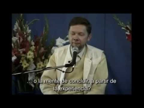 retiro en india. sesion 11. eckhart tolle. kirtana. who you really are.