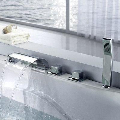 Bathtub Deck Mount Faucet
