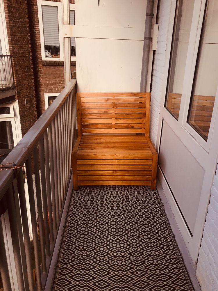 Balkon Bank Met Opbergruimte Voor Smalle Balkons V A 259 Con
