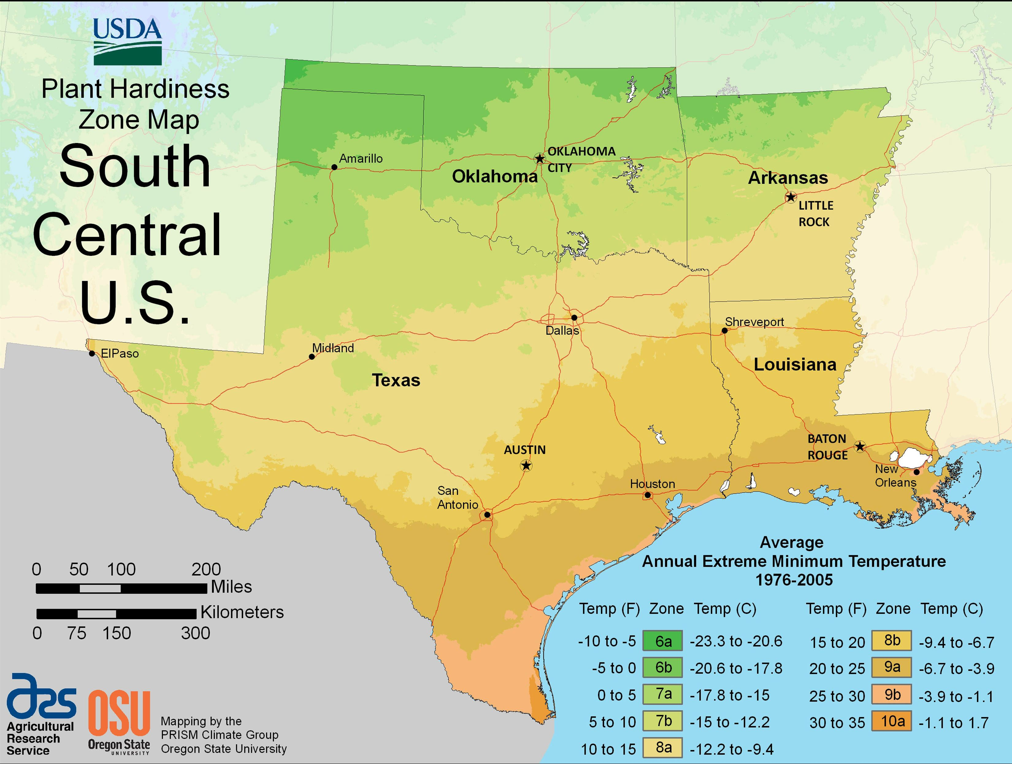 Find Your Usda Growing Zone By Region