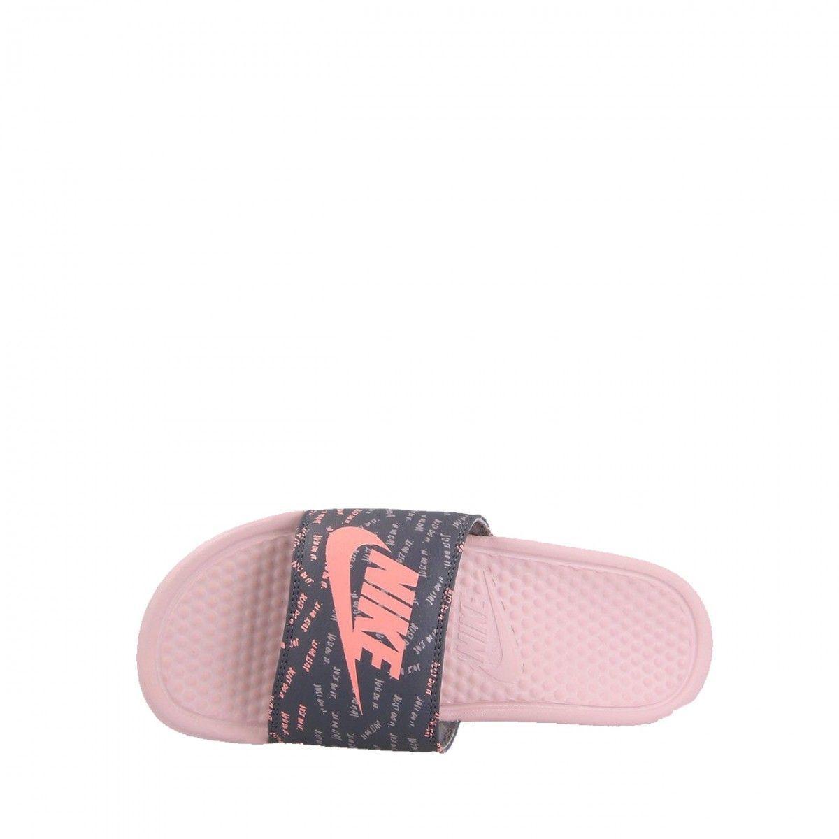 gros remise comparer les prix vif et grand en style Sandales Nike W Benassi Just Do It - Ref. 618919-605 ...
