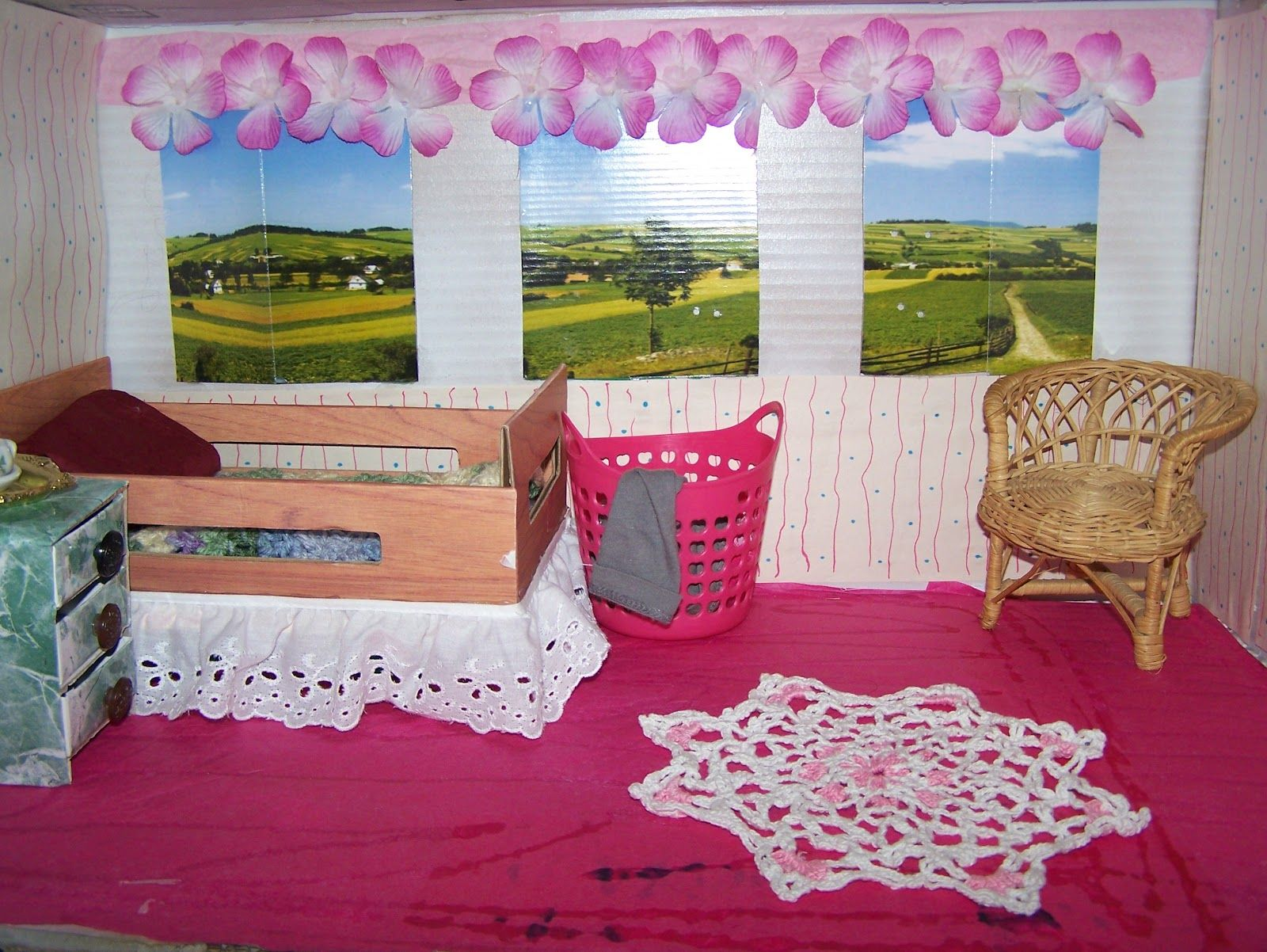 Barbie Printable Dollhouse Stuff | Dollhouse Nursery, 1/6 Scale, or How Barbie Left the Rental Life and ...