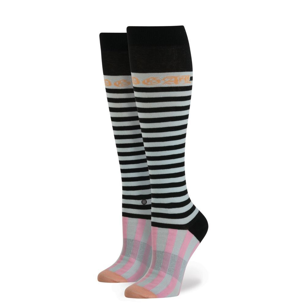 623720d1cc8c8 STANCE by RIHANNA Candy Bars Tall Boot Blue Socks Women's Size OS (6-10) NEW  #Stance #BootSocks #rihanna #rihannasocks #tallbootsocks #socks