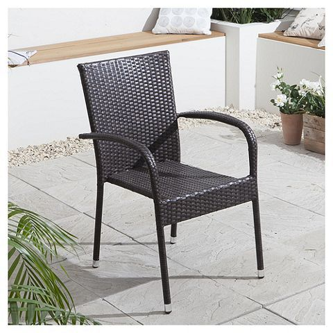 Tesco direct: Rattan Garden Dining Chair | rattan | Pinterest