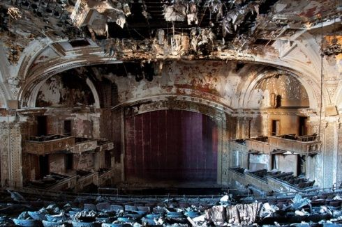 Forgotten Theatres Photography Abandoned Theatre Movie Theater