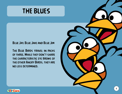 The Blues Angry Birds Angry Birds Party Blues
