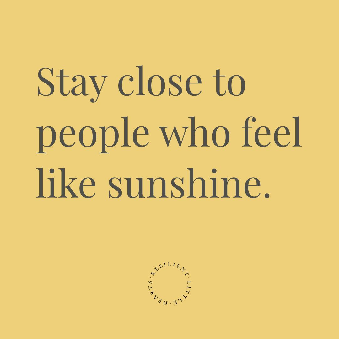 Beautiful Inspirational Quote Stay Close To People Who Feel Like