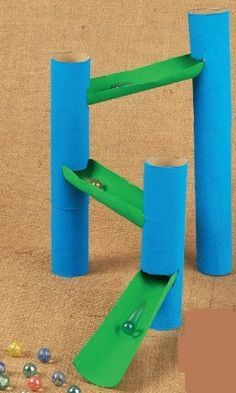 How to make a marble run game
