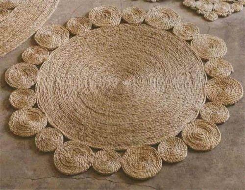 DIY Rustic Rug Of Jute Or Sisal Rope - Shelterness | Rugs ...