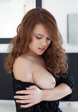 Touch and kiss sexy naked boobs, tiny naked female butt