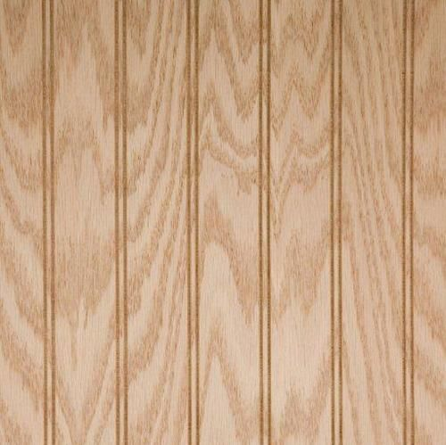 1 4 Red Oak 2 Inch Beadboard Paneling Unfinished Veneer 4 X 8 Wainscoting Panels Beadboard Red Oak