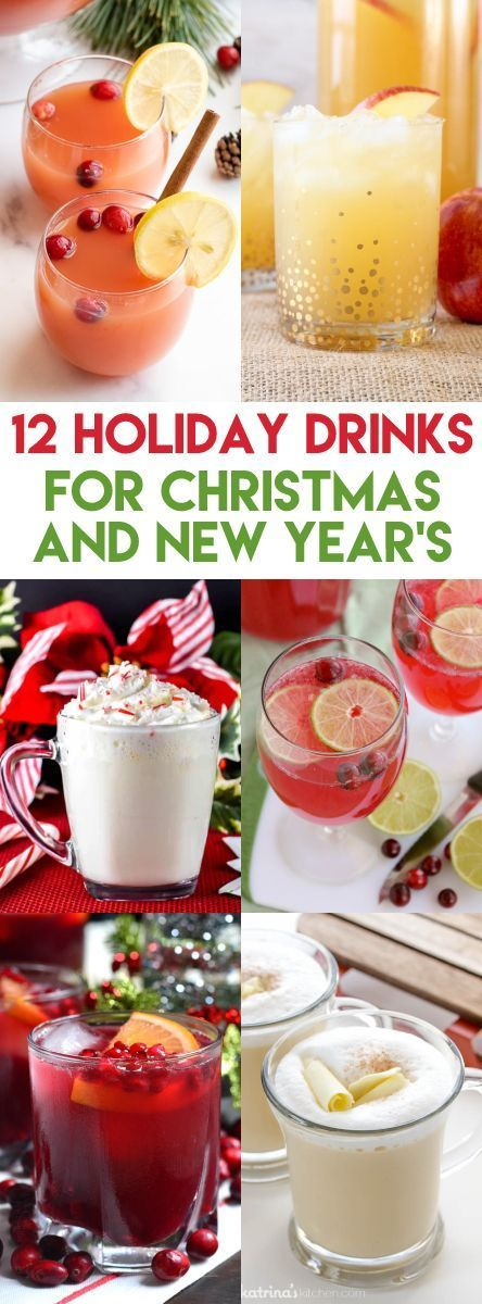 12 Non-Alcoholic Holiday Drinks for Christmas and New Year ...