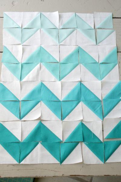 Zig Zag Quilt Pattern Triangles : chevron zig zag quilting. Just triangles! Creative & Crafty Pinterest Chevron quilt ...