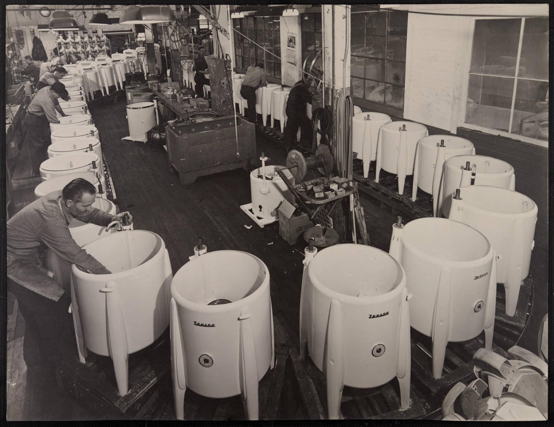 Wringer Washer Production Line Zenith Machine Company Duluth