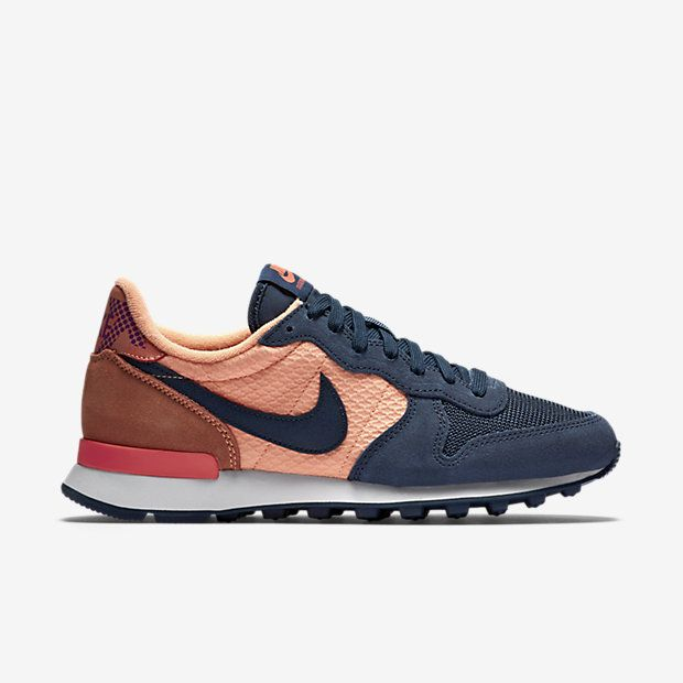nike internationalist dames donkergrijs