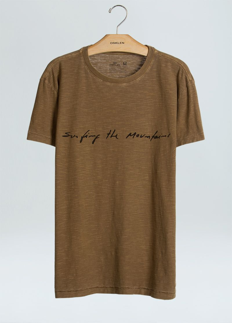 New Trip shirt - Brown Osklen Footaction Cheap Price For Sale Looking For Cheap Price dXwNxPOyV