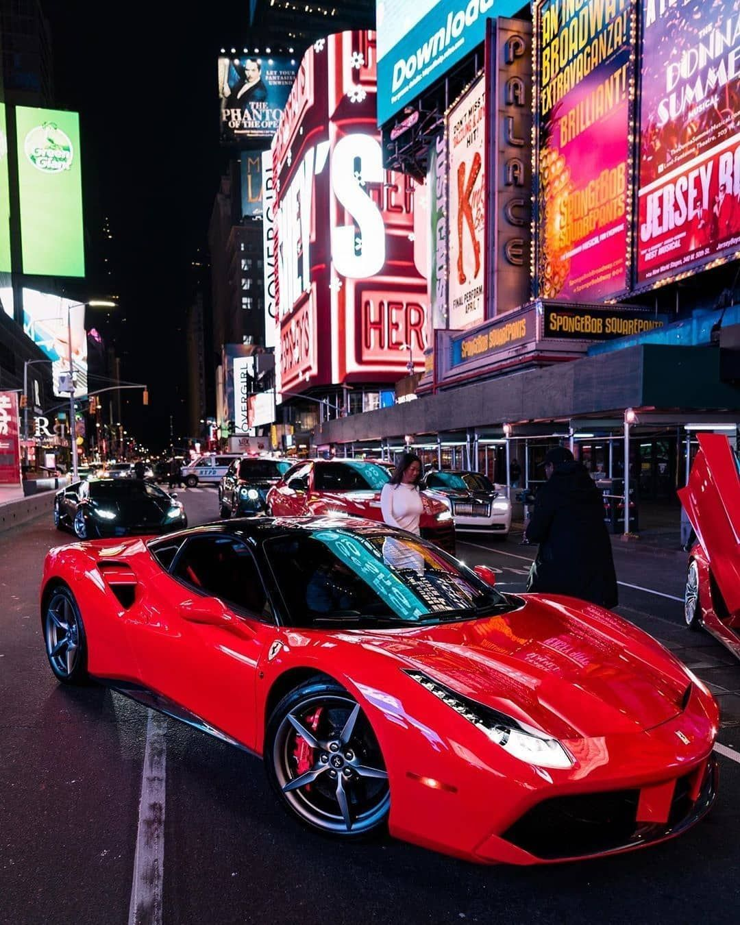 The Supercar Lifestyle Brad On Instagram Bringing New York S Times Square To A Halt Owner Rent24k By Opoli Super Cars Top Luxury Cars Dream Cars