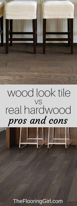 Hardwood Flooring Tile Planks That Look Like Pros And Cons Wood Floor
