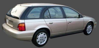 1997 Saturn Wagon Saturn S Series Wagon Station Wagon