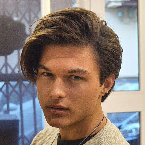 Men Hairstyles Medium Medium Length Hairstyles For Men 2018  Pinterest  Long Sides