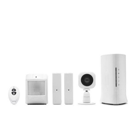 Home8 Security Starter Kit, Wireless Home Security Alarm System with 720p HD Camera and Indoor Siren, Multicolor