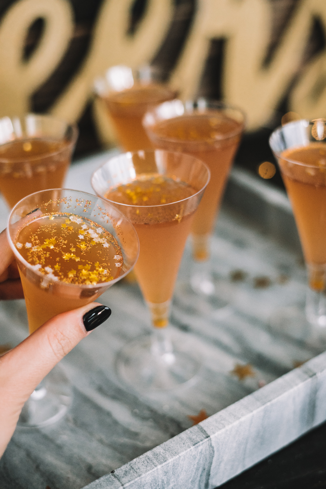 How to Make Champagne Glitter Jello Shots for New Years Eve