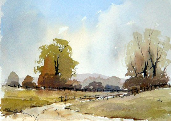 road to parbold by alan owen | Projects to Try | Painting ...
