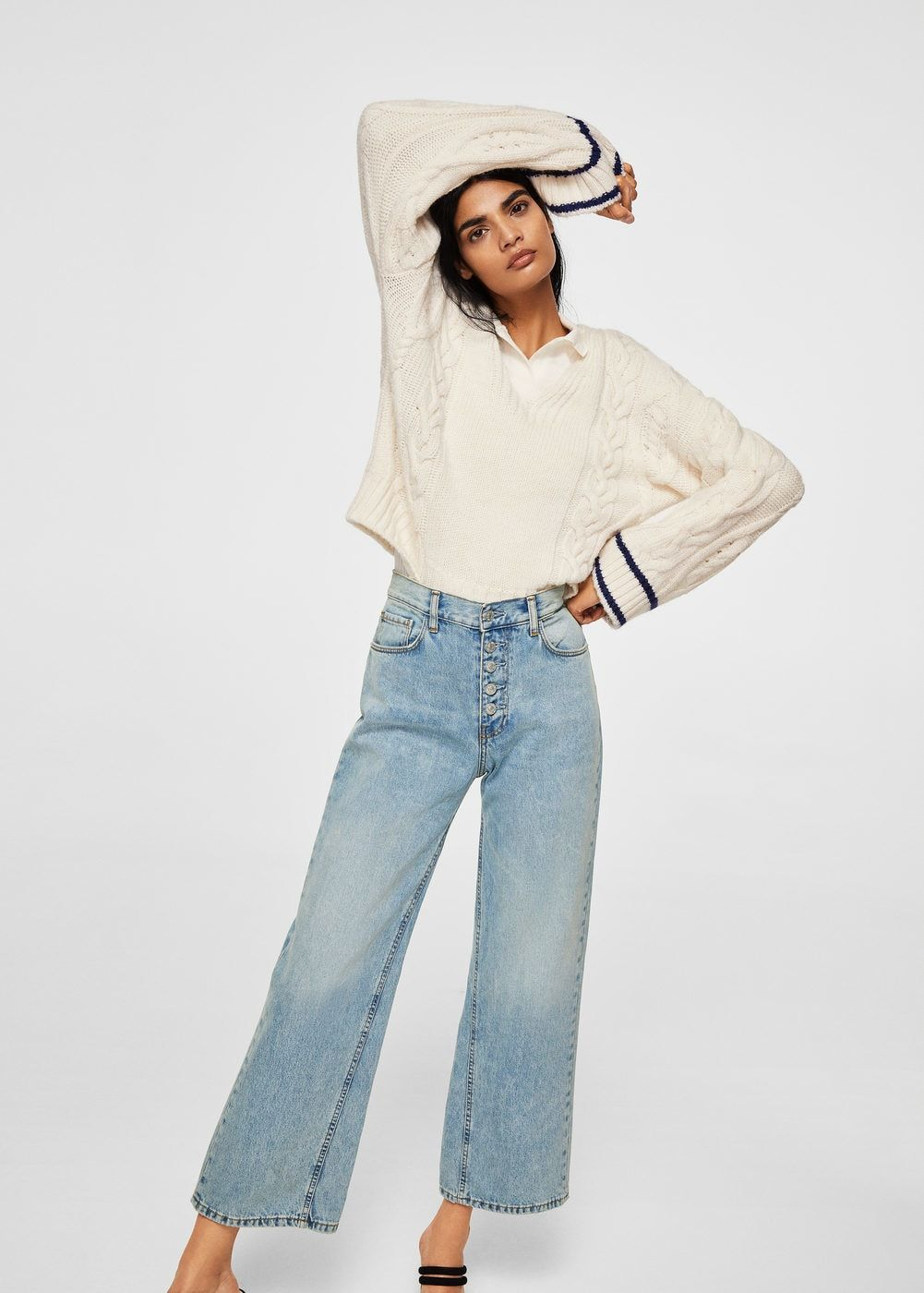 MANGO relaxed vintage Mujer España Jeans td4qFXwX