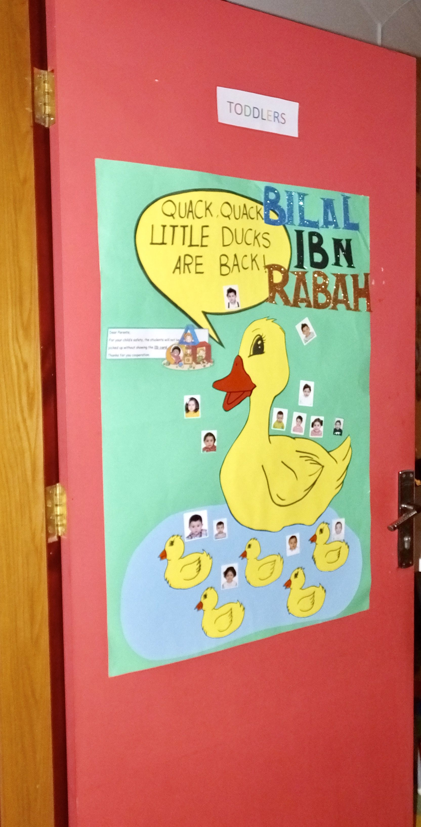 Pin By World Of Learning Internationa On Classroom Door