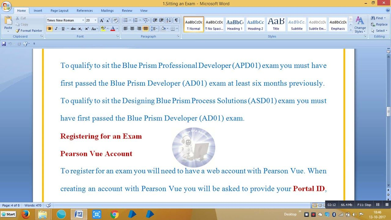 Blueprism Rpa Certification Exams Bpce2001 Aditya Rpa Academy