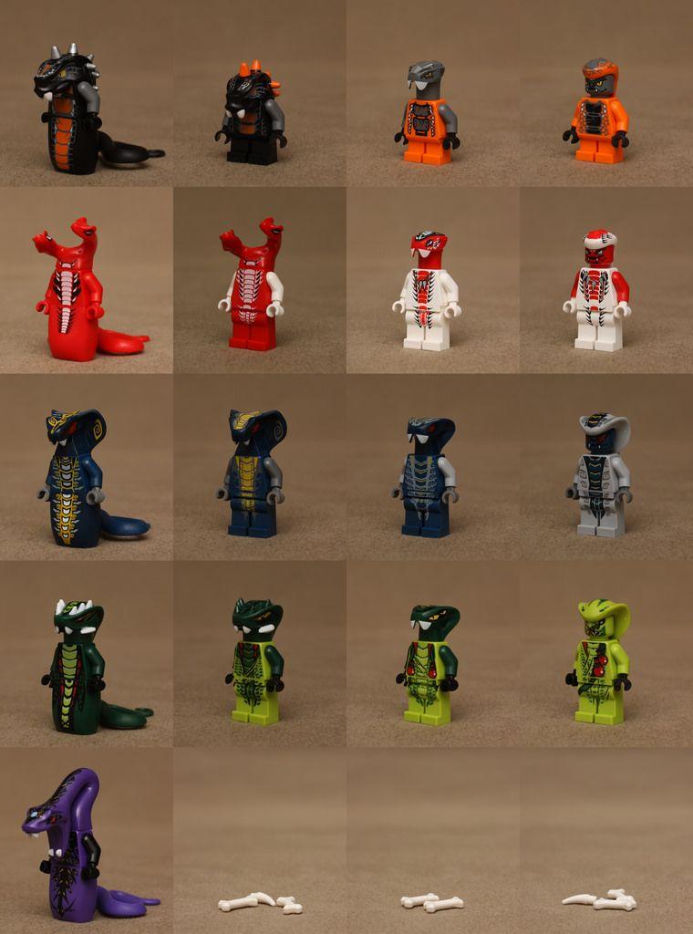 The Serpentine Lego Ninjago Lego Custom Minifigures Ninjago