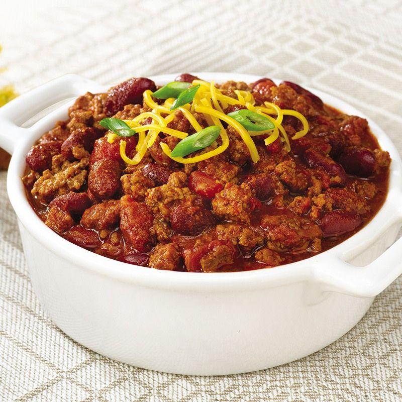 GlutenFree McCormick® Chili Recipe Food recipes, Slow