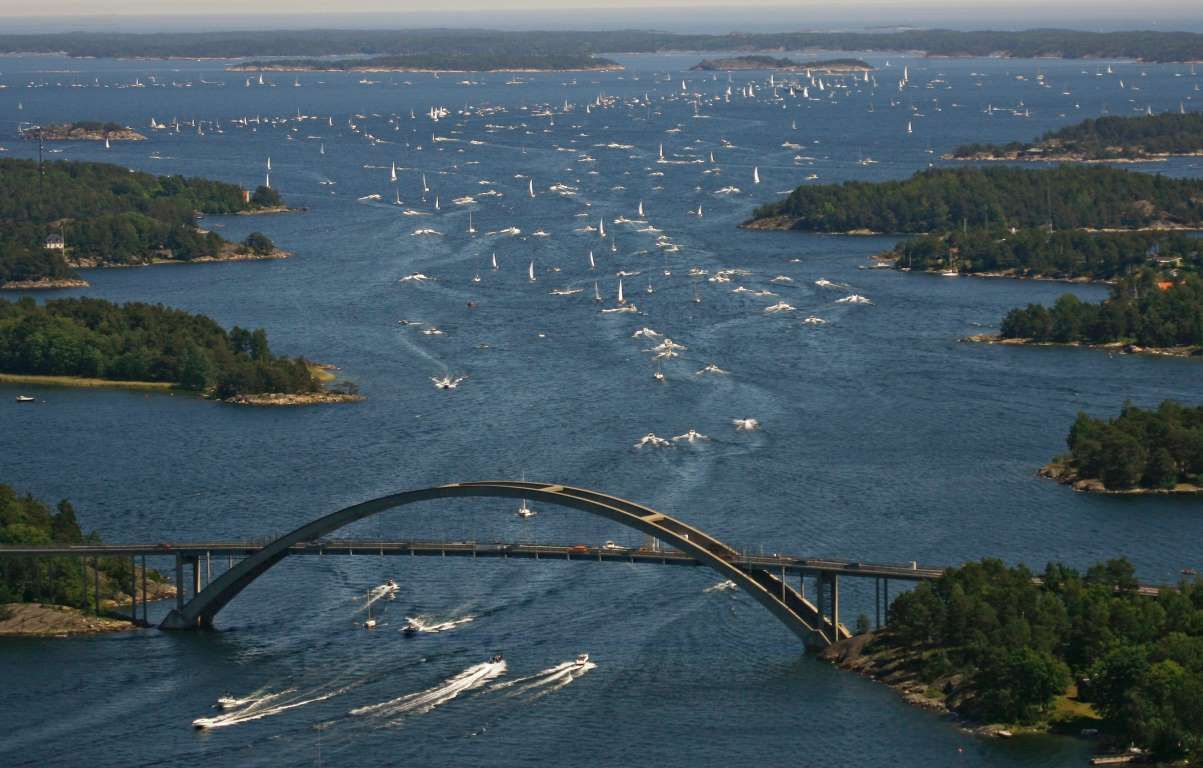 Arquipélago de Estocolmo, Suécia