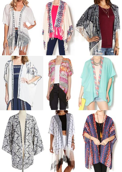Kimono cardigans under $100 | everything | Pinterest | Kimonos ...