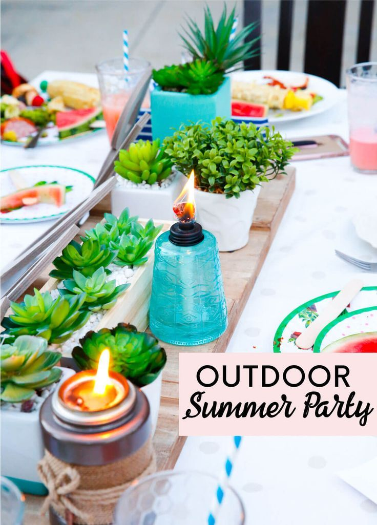 Throw A Fun Outdoor Summer Party With Your Friends And Family This Year I Ll Show You Exactly How To Make It Delicious