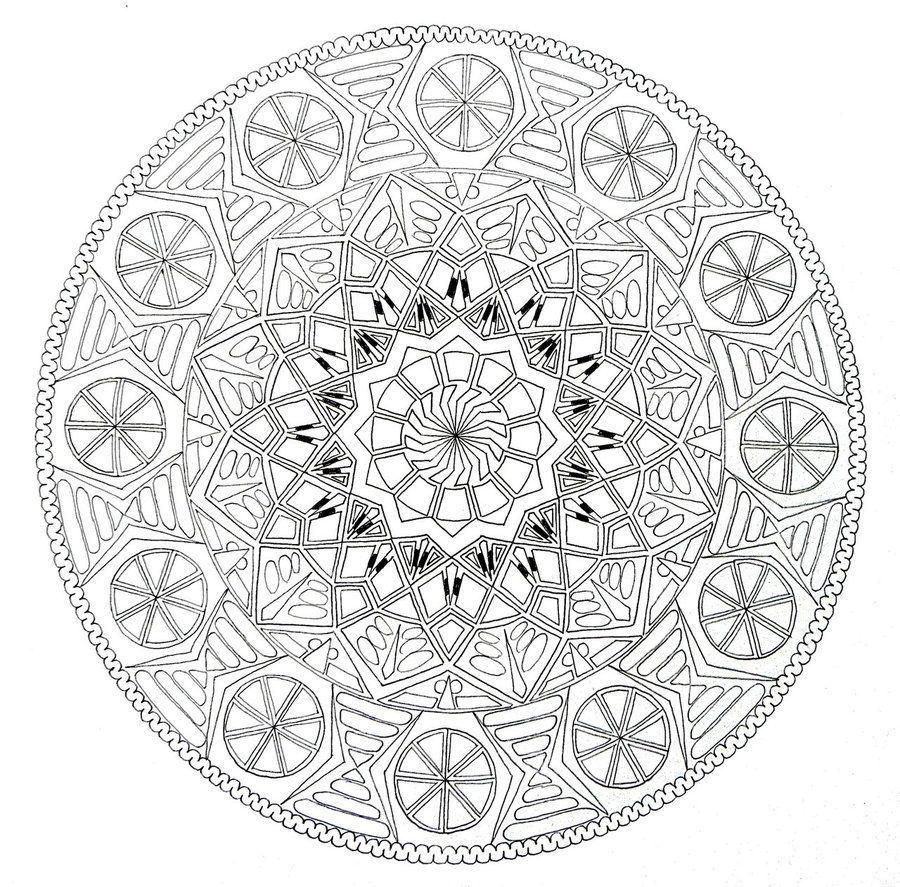 Celtic Mandala Coloring Pages Bing Images ColoringMandalas
