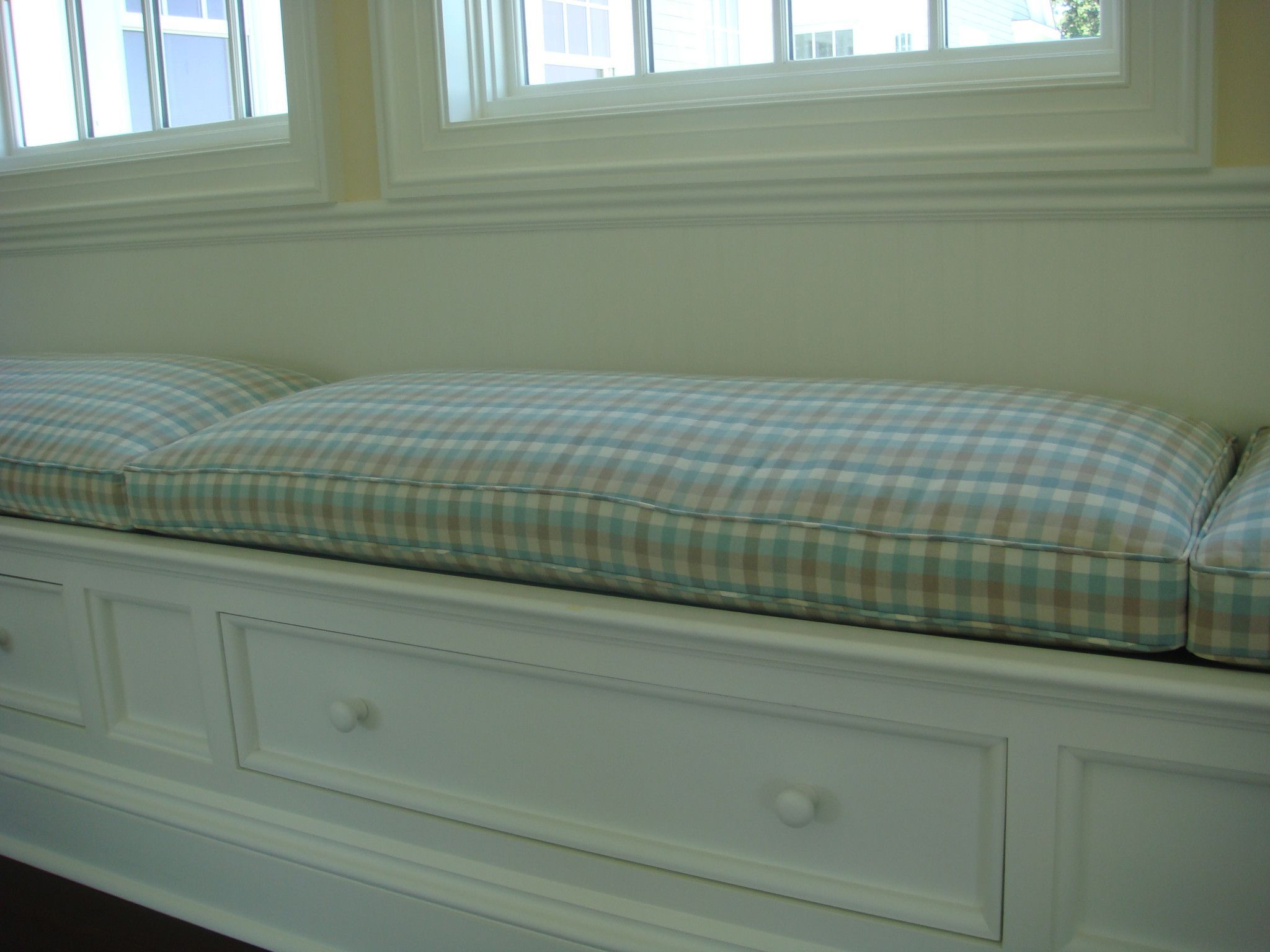 Window Seat Cushions For Playroom Ideas For The House