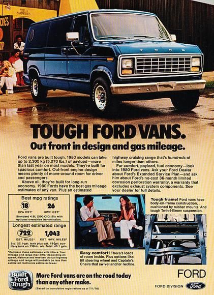 Ford Ad Vk Ford Van Vans Usa Ford