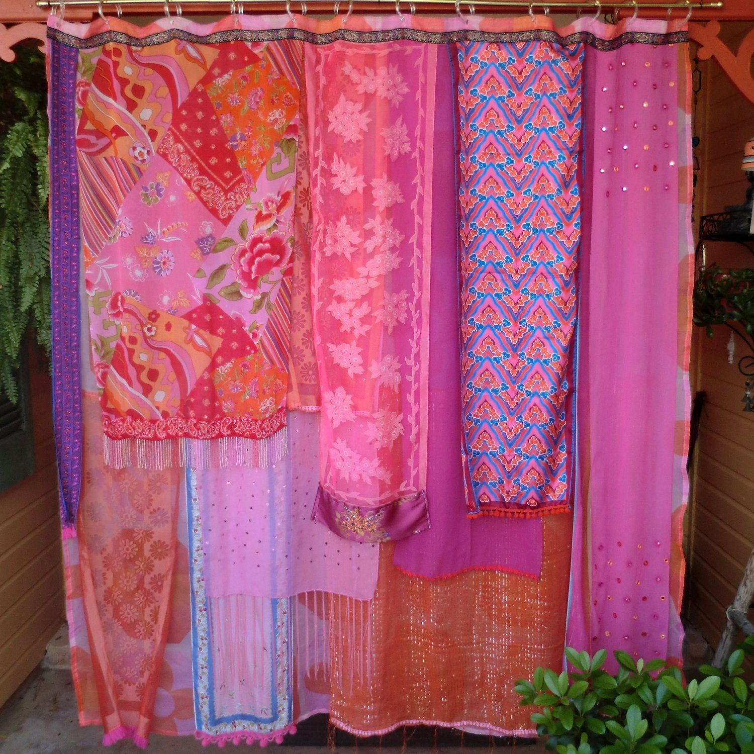 Bohemian Shower Curtain Function And Color Combinations - http ...