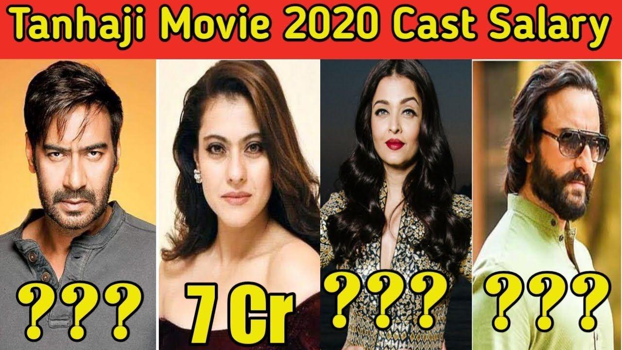 Taanaji Movie 2020 Cast Salary Revealed Ajay Devgan Saif Ali