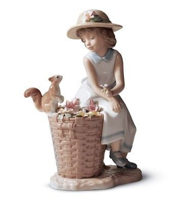 Lladro Hello Little Squirrel New in Box 6825   eBay