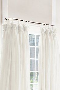 Curved Curtain Rod With Images Curved Curtain Rods Curtain