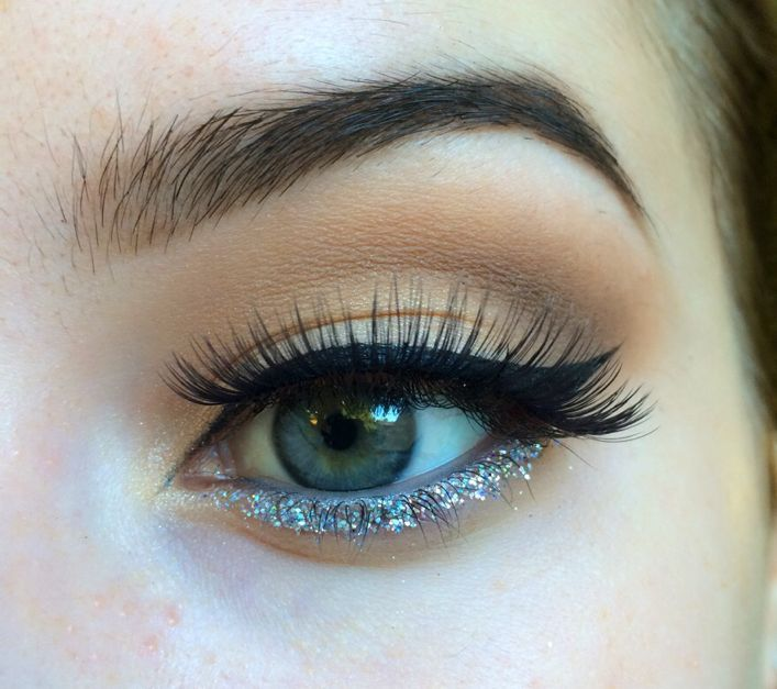 Pop of glitter! by Strawberica. Browse our real-girl gallery #TheBeautyBoard on Sephora.com