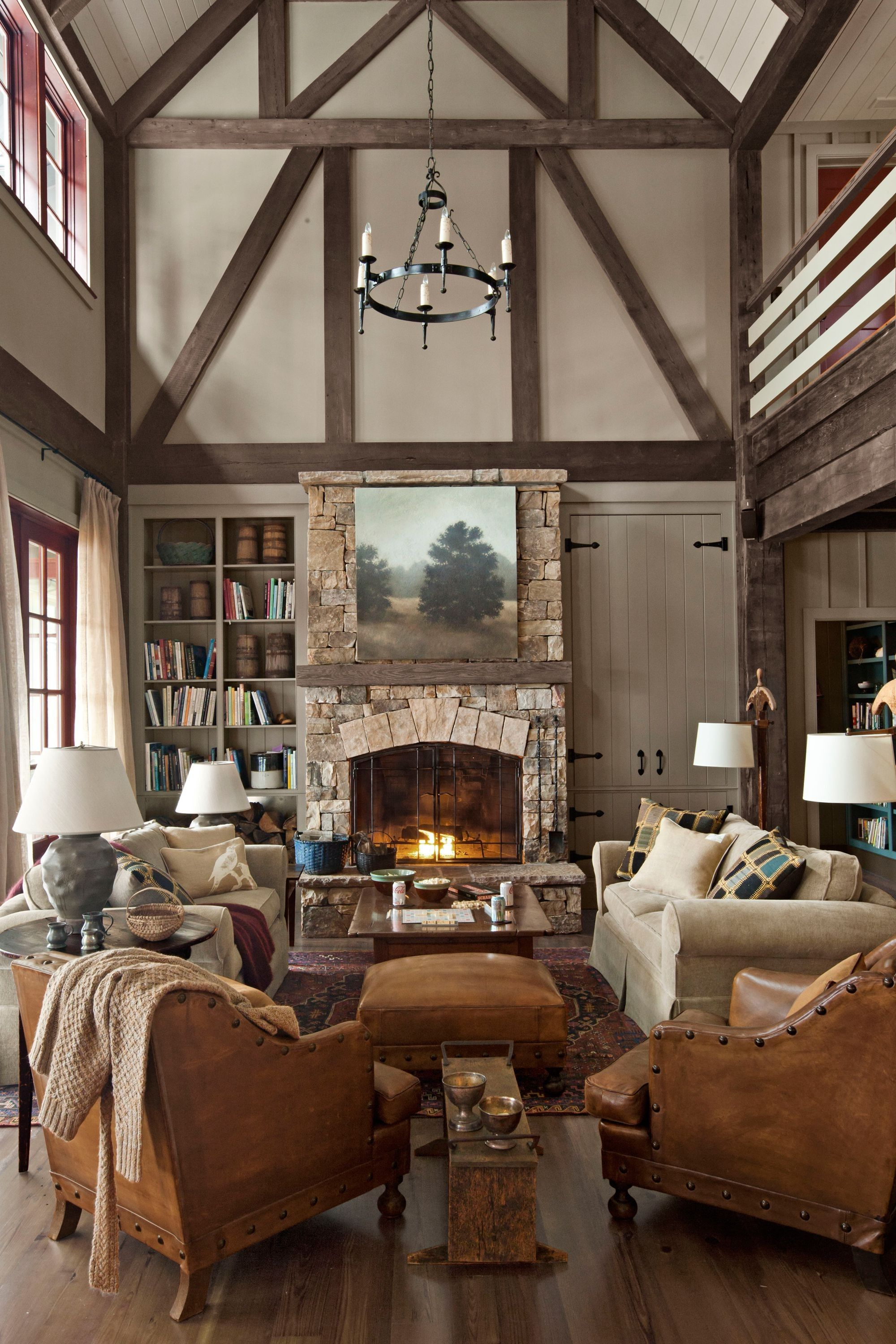 French Country Living Room Ideas Cozy Living Room Colors Cosy Living Rustic House Rustic Style Decor Rustic Lake Houses