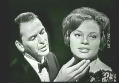 Frank Sinatra w/ Lover Juliet Prowse   Sinatra, Frank sinatra