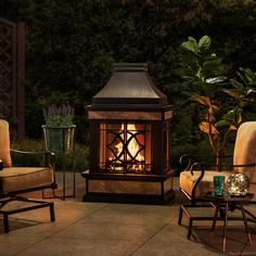 Pin by Carolyn Godfrey on Stuff to buy in 2020 | Outdoor ... on Quillen Steel Wood Burning Outdoor Fireplace id=45177
