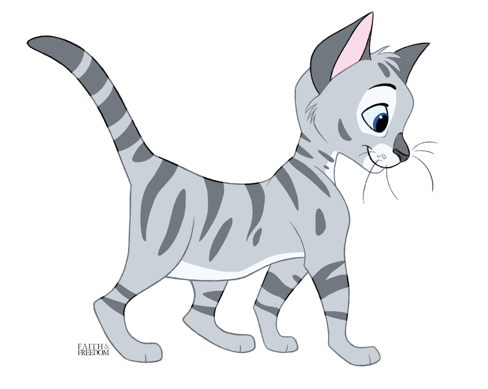 Silver Tabby Kitten By Faithandfreedom On Deviantart Silver Tabby Kitten By Faithandfreedom On Deviantar In 2020 Cartoon Cat Drawing Canine Art Cute Animal Drawings
