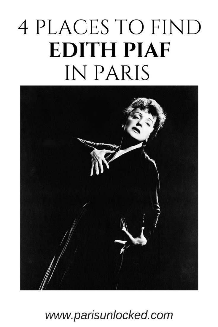 "Edith #Piaf fans or those who saw the film ""La Vie en Rose"" and want to learn more about the iconic French singer-songwriter: These are 4 essential places in #Paris haunted by #Piaf. Read more to take yourself on a self-guided tour of her personal Paris. #travel #europe #music #chanson"